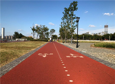 Light Traffic Landscape Pavement