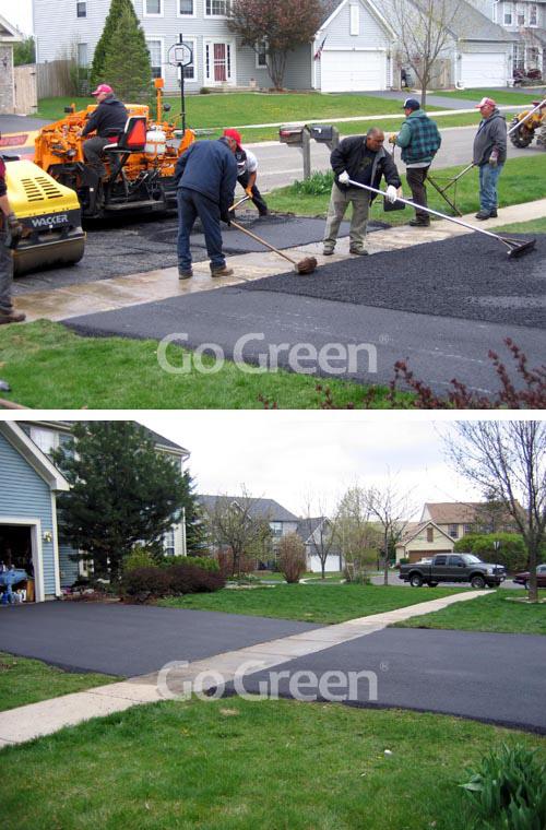 Go Green沥青冷补料在美国的项目