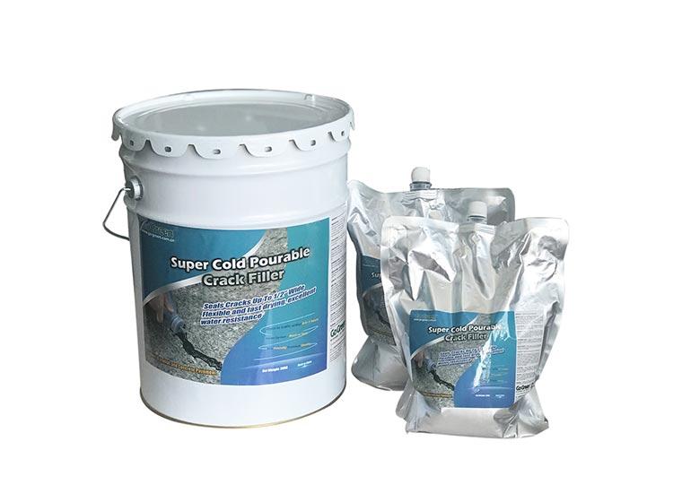 硅酮型冷灌缝胶