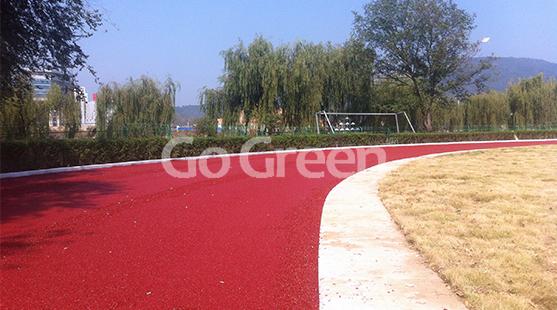 冷拌彩色沥青在跑道上的应用