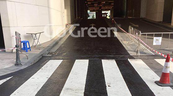 硅沥青雾封层应用于澳门隧道养护