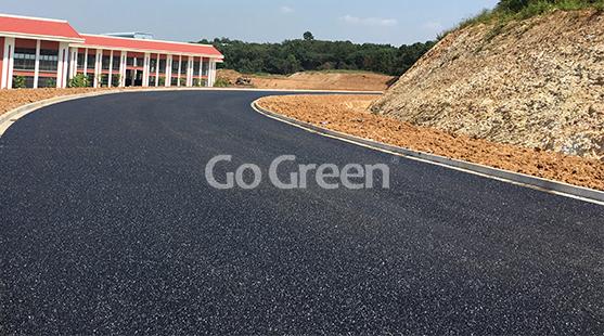 苏州黑色透水沥青项目
