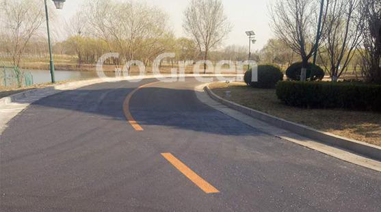 沥城雾封层用于5星级酒店沥青路面翻新的项目