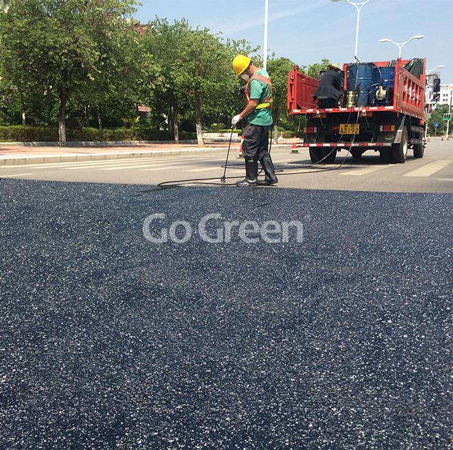 [新技术]低成本高效率沥青路面预防性养护-环保型硅沥青雾封层