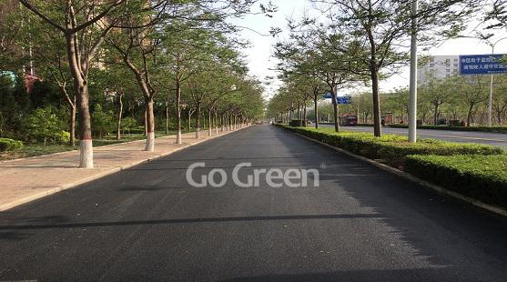 Go Green沥城工程 温拌沥青薄层 河北项目顺利完工